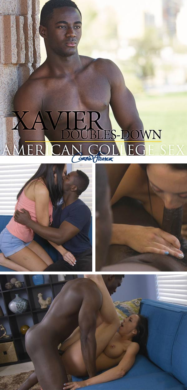 Xavier Doubles Down at AmateurCollegeSex