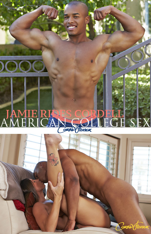 Jamie Rides Cordell at American College Sex