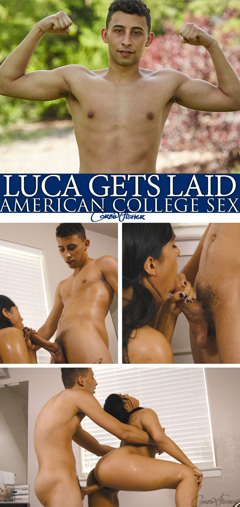 Luca Gets Laid at AmateurCollegeSex