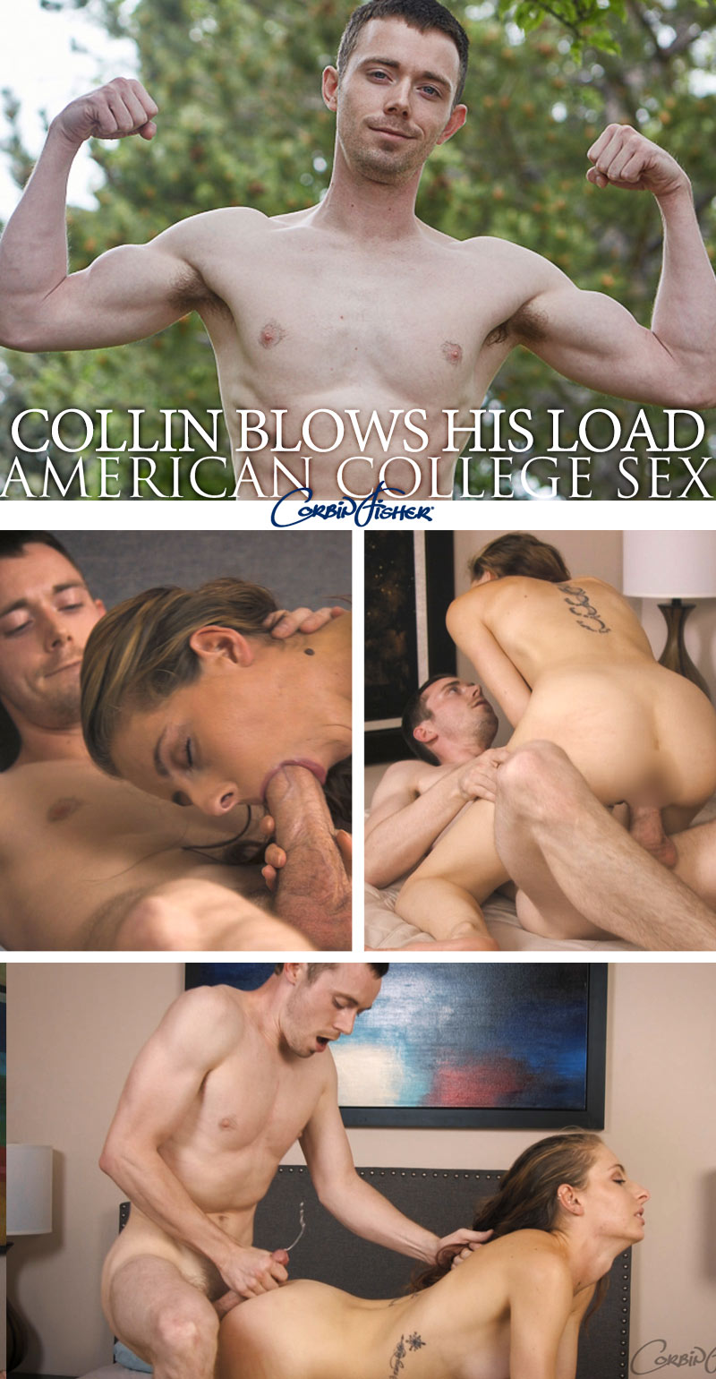 Collin Blows His Load at AmateurCollegeSex