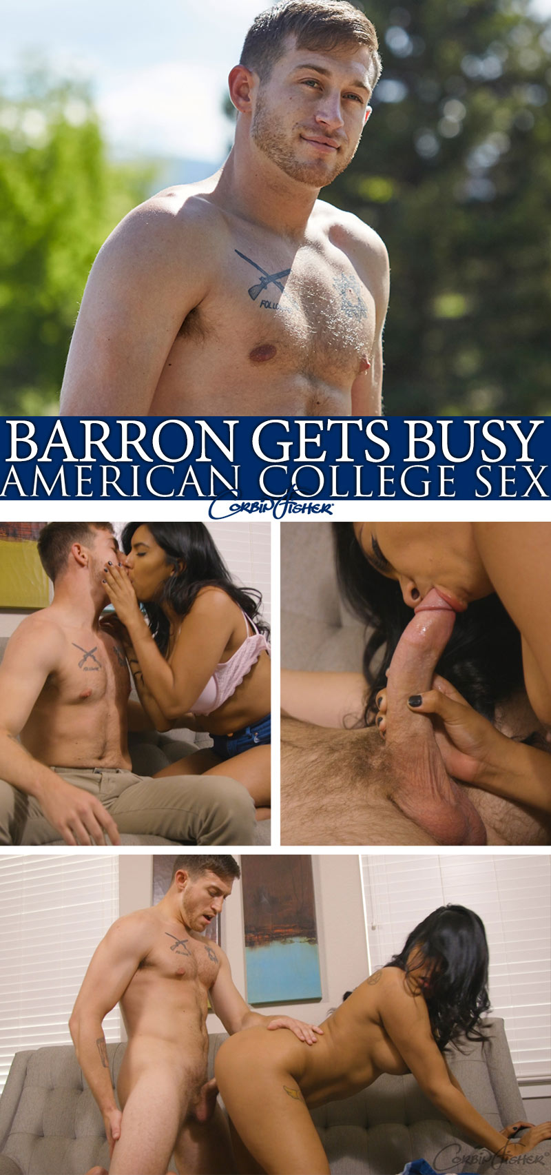 Barron Gets Busy at AmateurCollegeSex