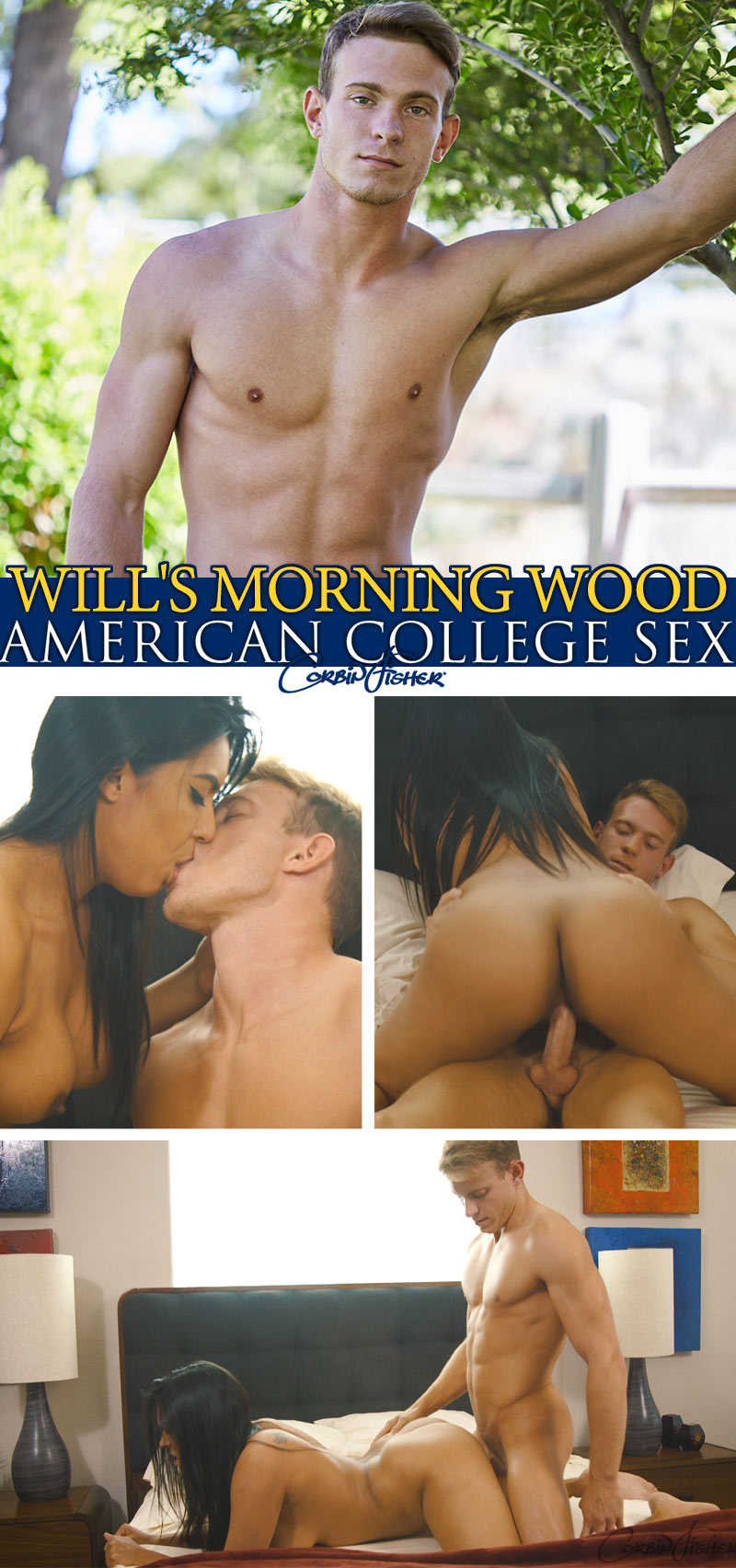 Will's Morning Wood at AmateurCollegeSex