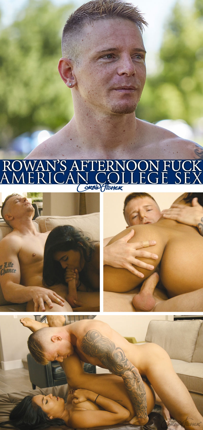 Rowan's Afternoon Fuck at AmateurCollegeSex