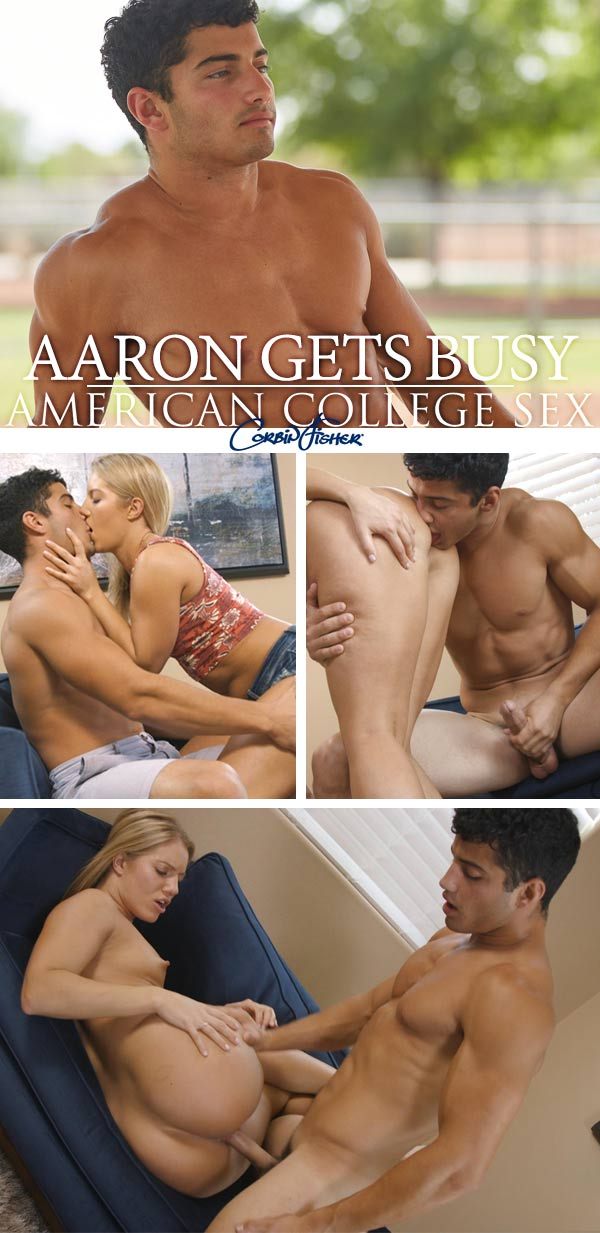 Aaron Gets Busy Fuck at AmateurCollegeSex