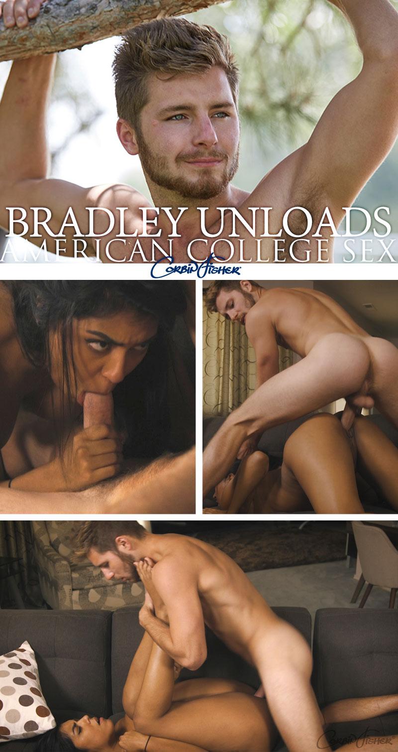Bradley Unloads at AmateurCollegeSex