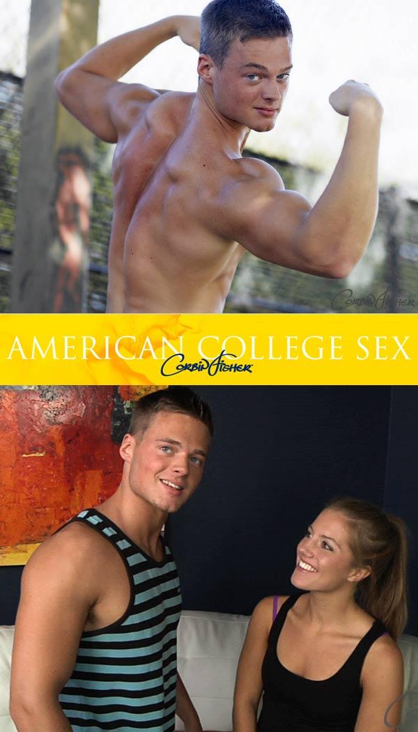Cort & Tiffany (Bareback) at American College Sex