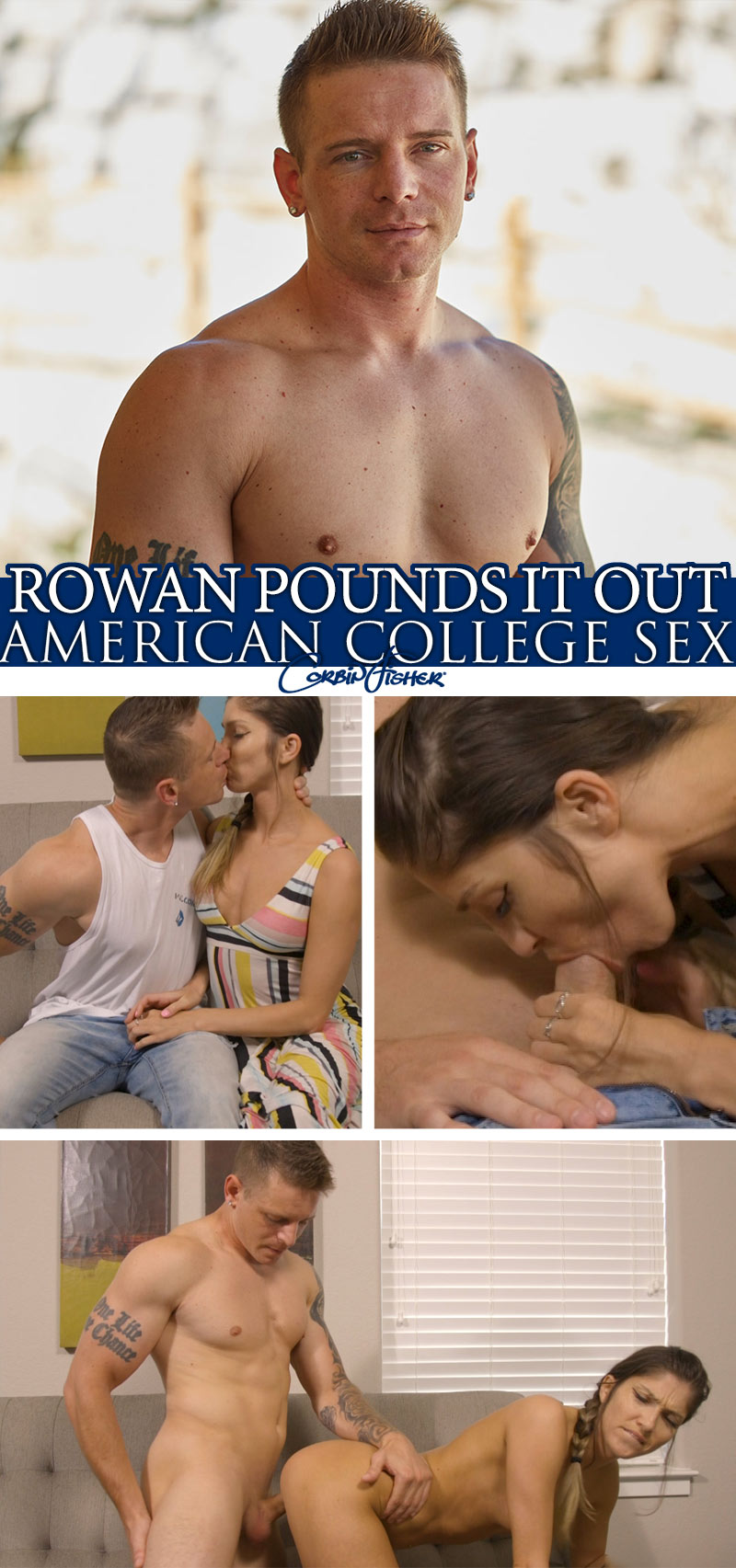 Rowan Pounds It Out at AmateurCollegeSex