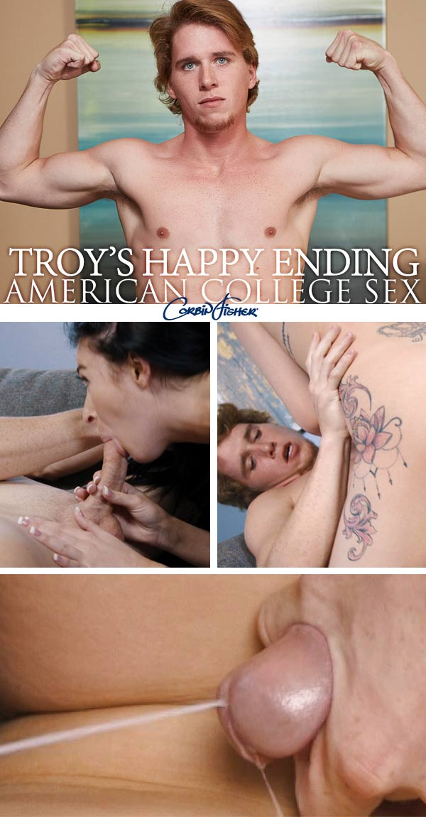 Troy's Happy Ending at AmateurCollegeSex