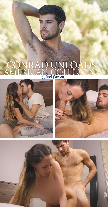 Conrad Unloads at AmateurCollegeSex