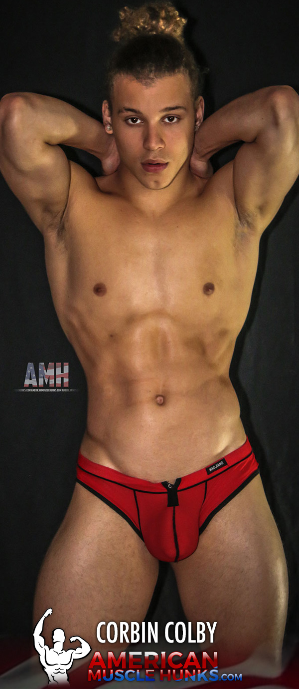 Corbin Colby at American Muscle Hunks