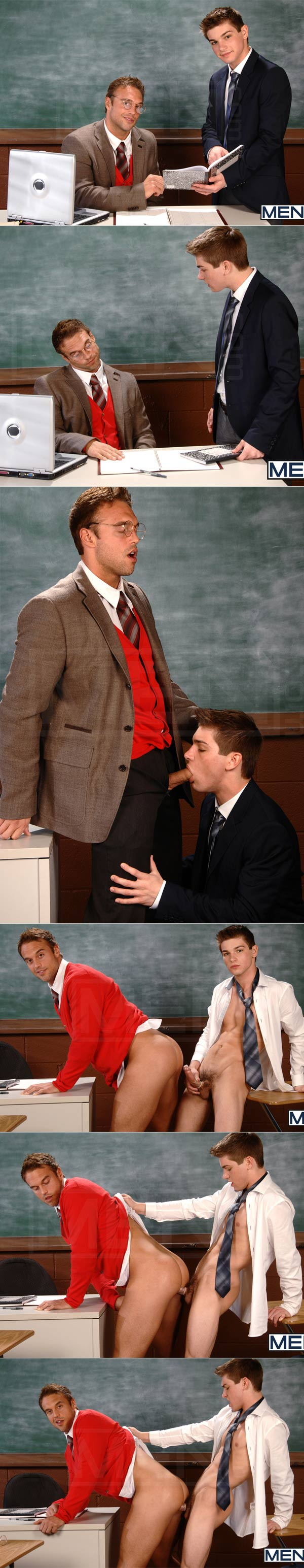 Seducing the Professor 2 (Johnny Rapid & Rocco Reed) (Flip-Flop) at BigDicksAtSchool