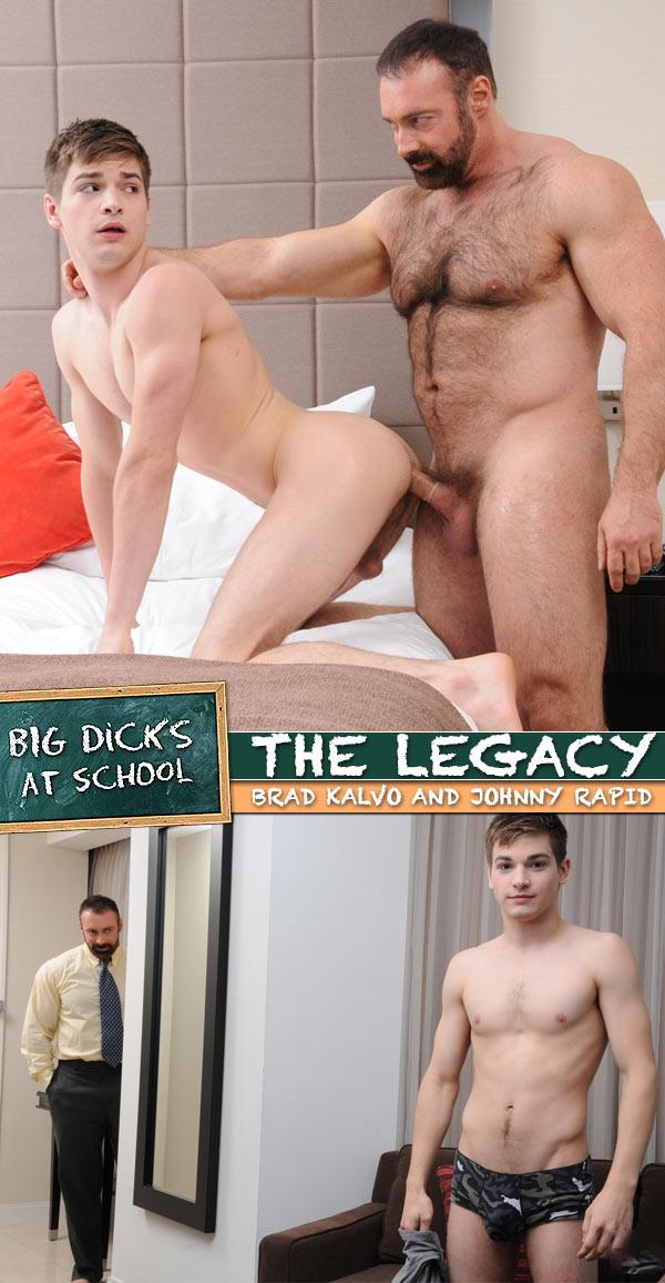 The Legacy (Brad Kalvo & Johnny Rapid) at BigDicksAtSchool