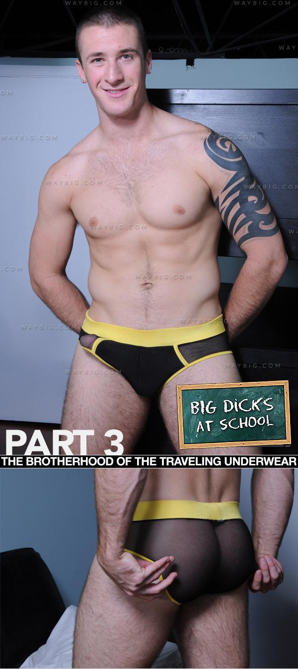 The Brotherhood of the Travelling Underwear (Phenix Saint & Connor Kline) (Part 3) at BigDicksAtSchool