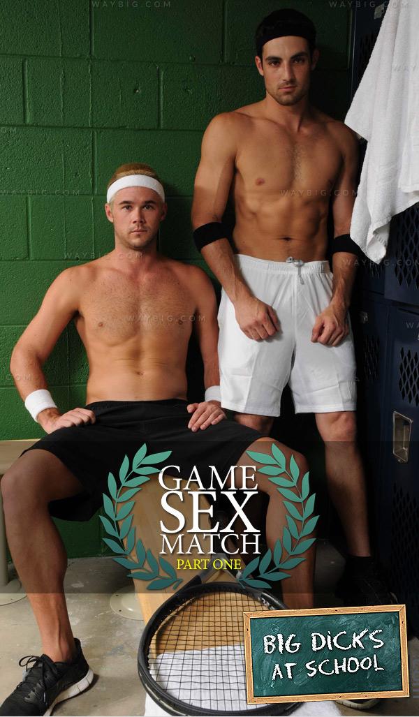 Game Sex Match (Jack King & Mike De Marko) (Part One) at BigDicksAtSchool