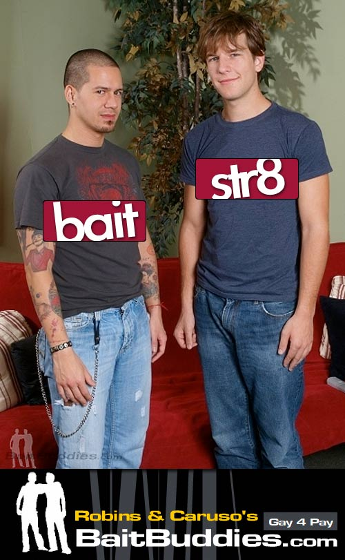 Alex Foster (Str8) & Rocco Giovanni (Bait) on BaitBuddies.com