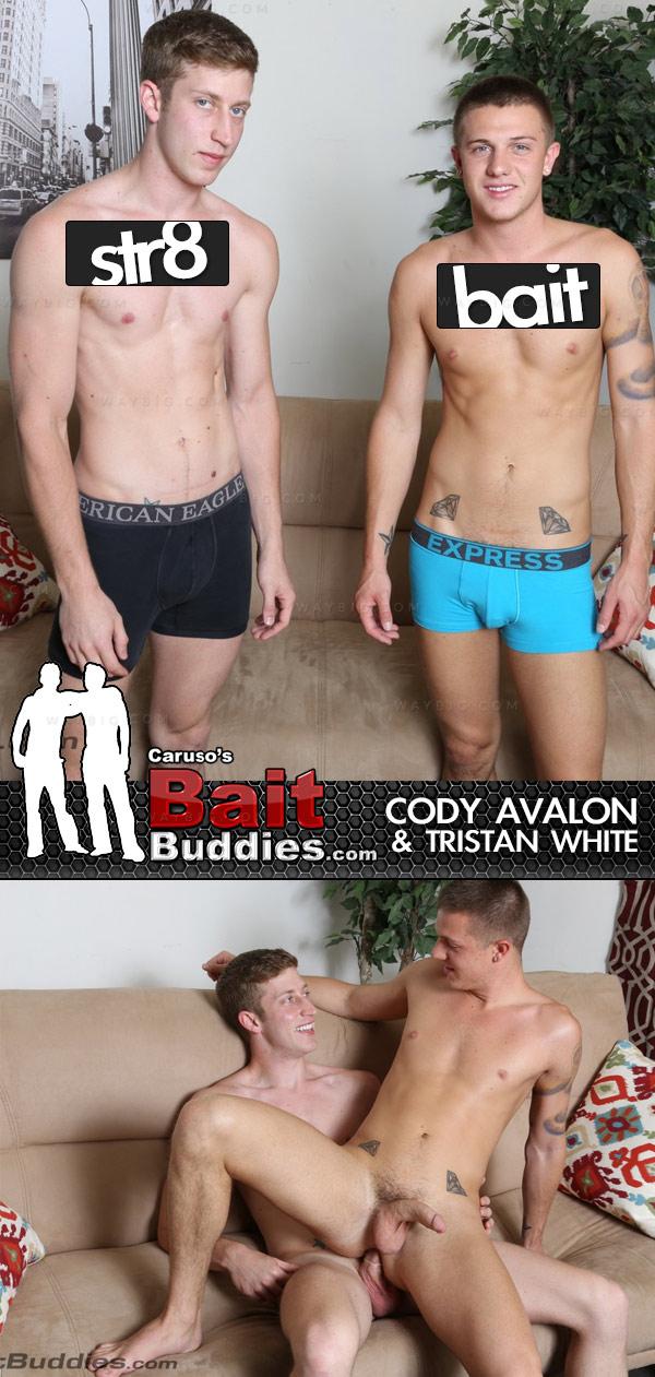 Cody Avalon (Bait) & Tristan White (Str8) on BaitBuddies.com