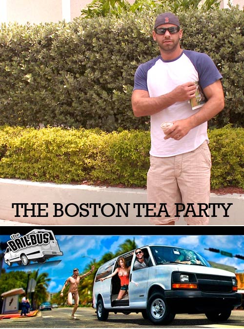 The Boston Tea Party at BaitBus.com