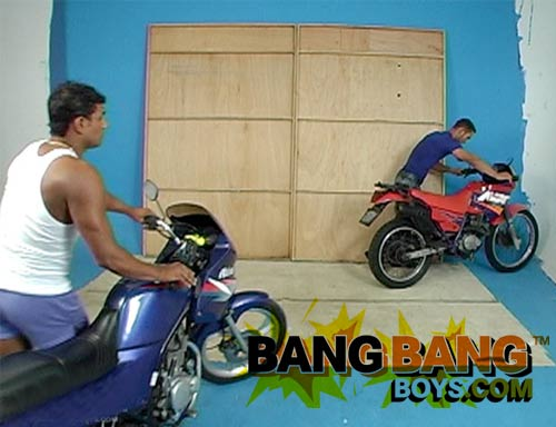Vitor Bangs Kaio Castro at BangBangBoys.com