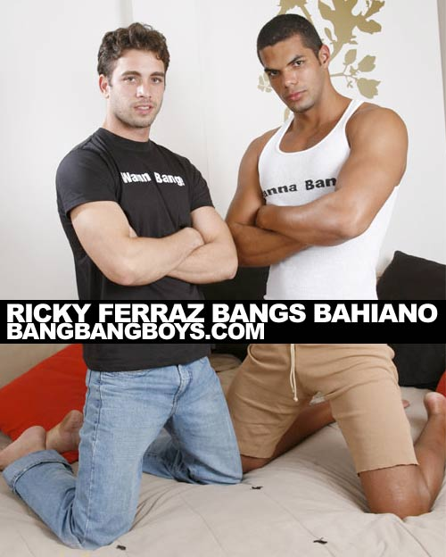 Ricky Ferraz Bangs Bahiano at BangBangBoys.com