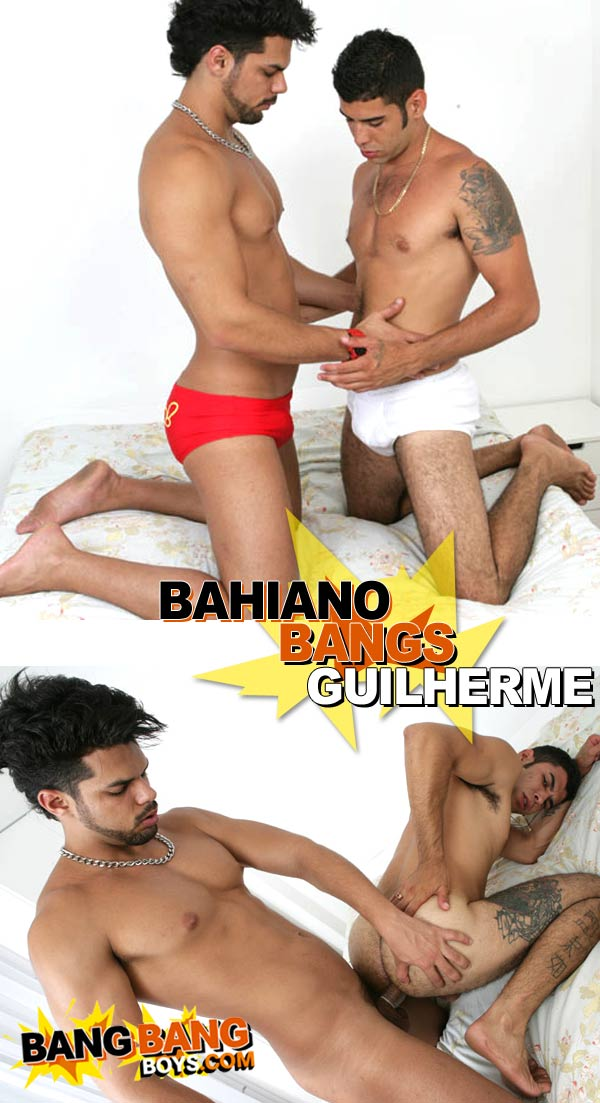 Bahiano Bangs Guilherme at BangBangBoys.com