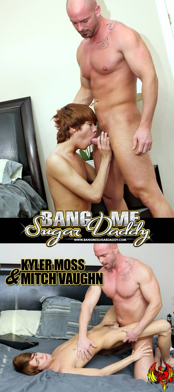 Kyler Moss & Mitch Vaughn at Bang Me Sugar Daddy