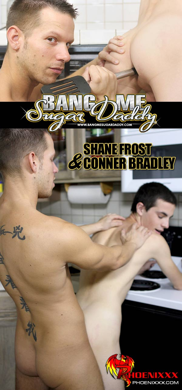 Shane Frost Fucks Conner Bradley at Bang Me Sugar Daddy