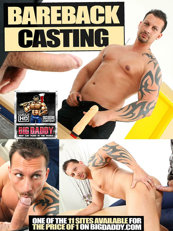 Georgio Hires and Fucks the New Assistant at Bareback Casting