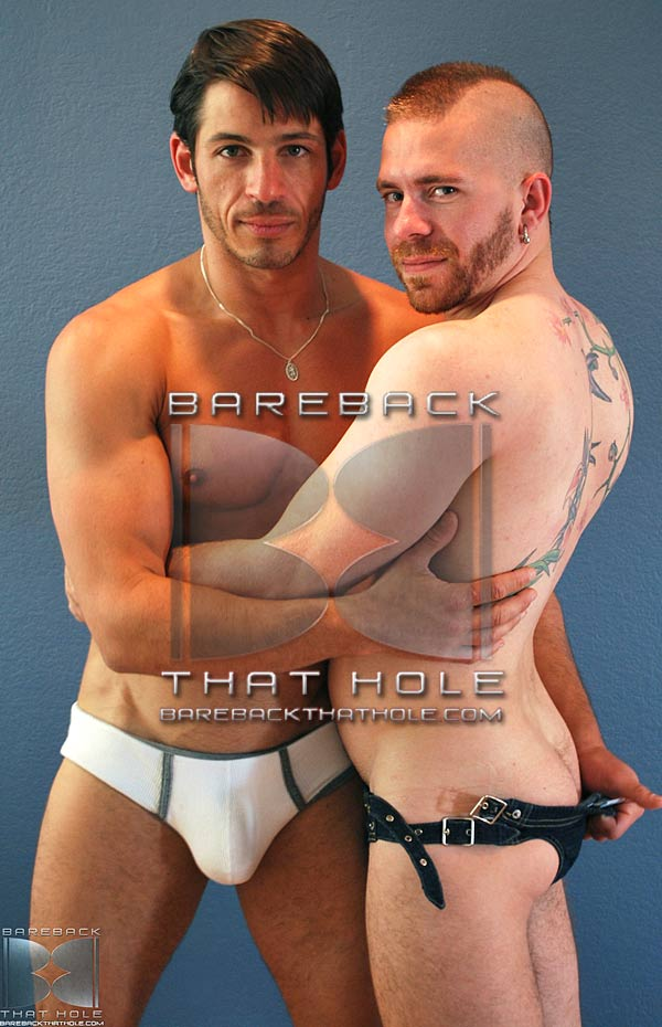 Joey Milano & Butch Bloom at Bareback That Hole