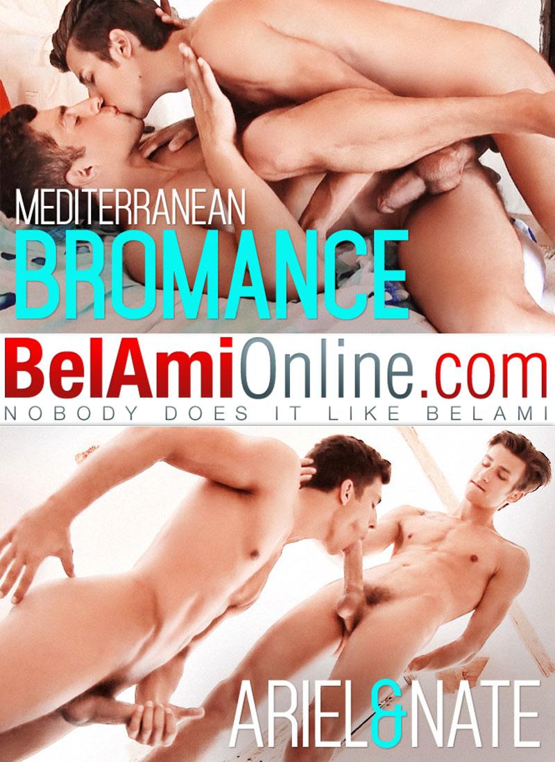 Mediterranean Bromance (Nate Donaghy Fucks Ariel Vanean) (Bareback) at BelAmiOnline.com