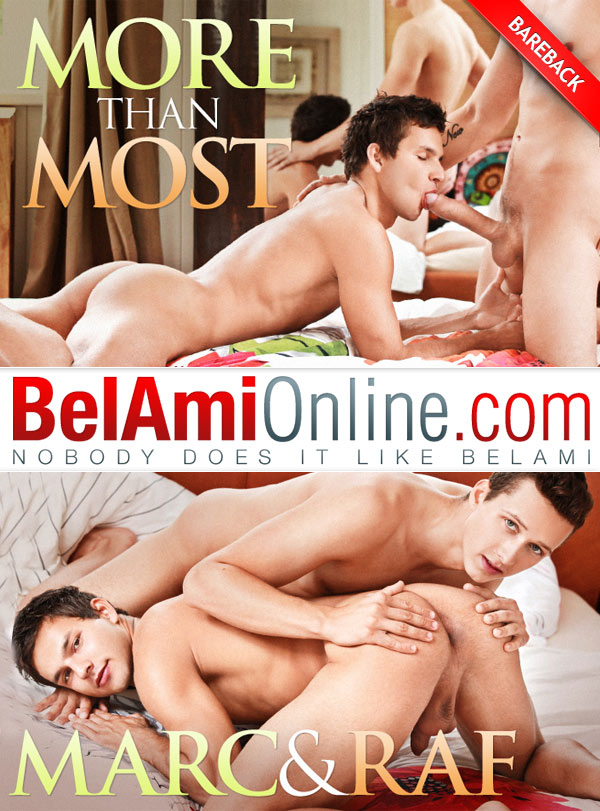 More Than Most (Raf Koons Fucks Marc Ruffalo) at BelAmiOnline.com