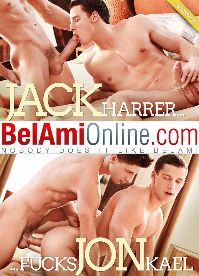 Jack Harrer Fucks Jon Kael (Bareback) at BelAmiOnline.com