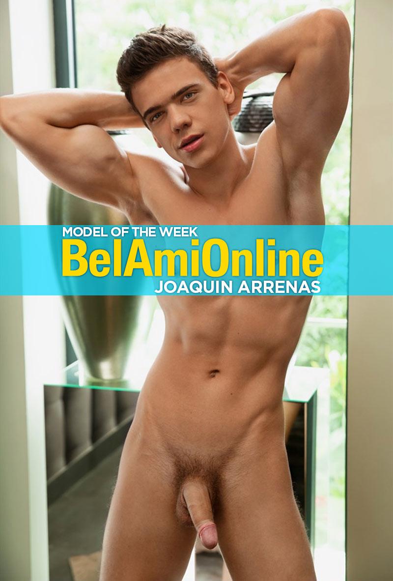 Joaquin Arrenas (Model of the Week) at BelAmiOnline.com