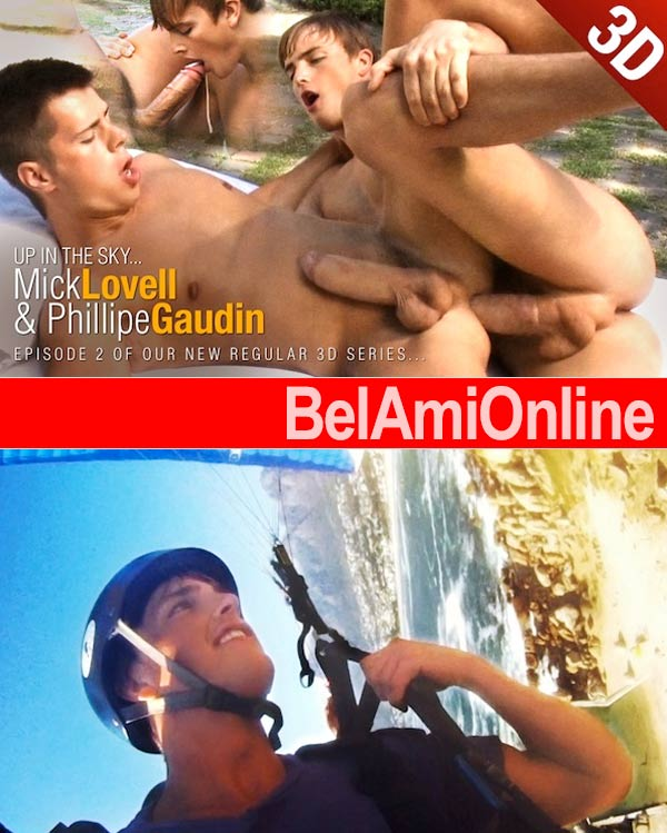 Mick Lovell & Phillipe Gaudin 3D Flip-Flop Fuck at BelAmiOnline.com