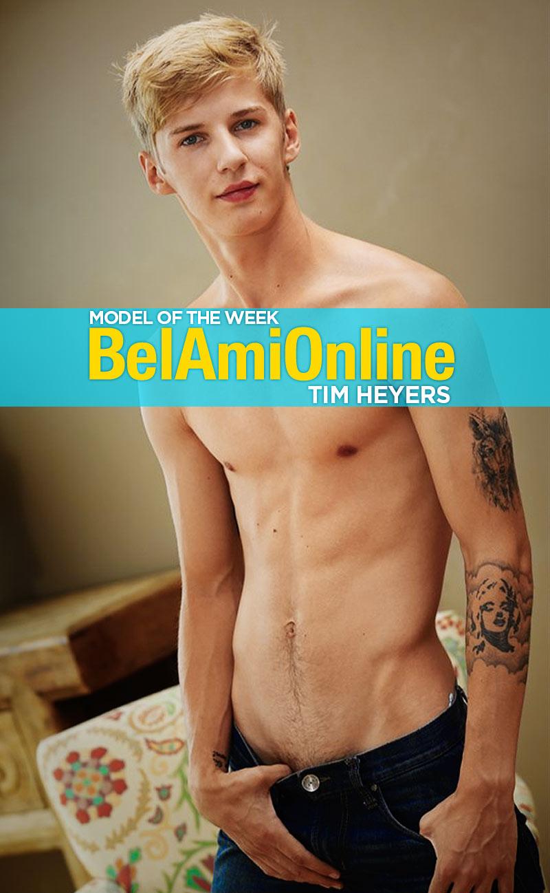 Tim Heyers (Model of the Week) at BelAmiOnline.com