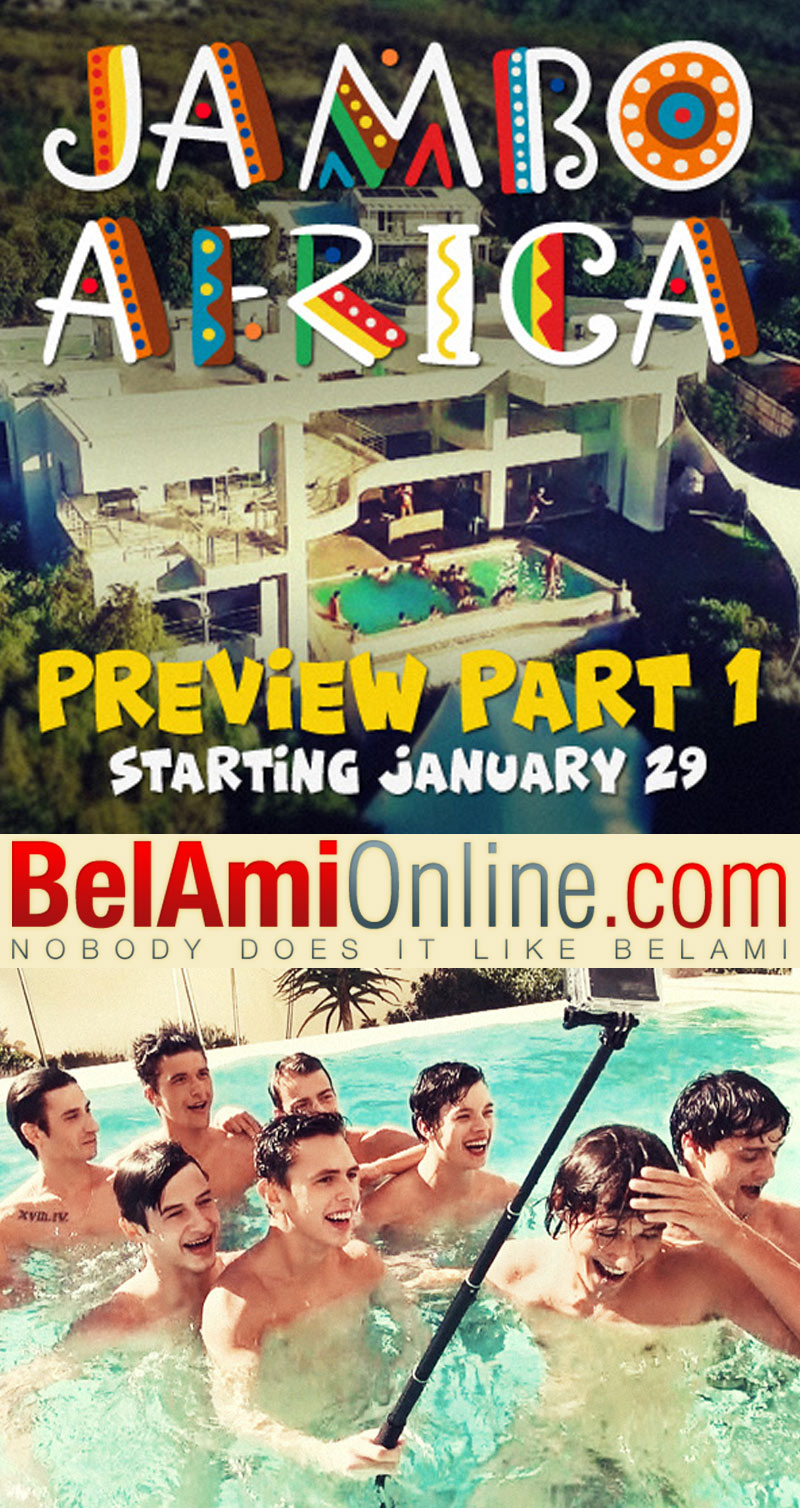 'Jambo Africa' (New Series Preview, Part 1) at BelAmiOnline.com