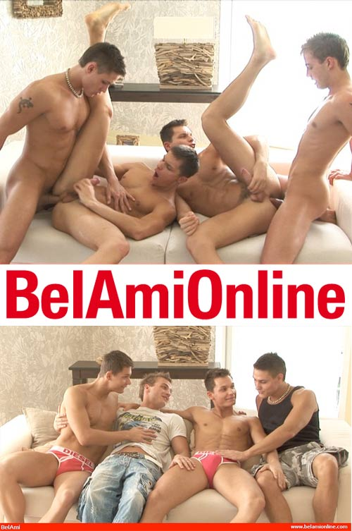 Vadim Farrell, Florian Nemec & The Peters Twins at BelamiOnline