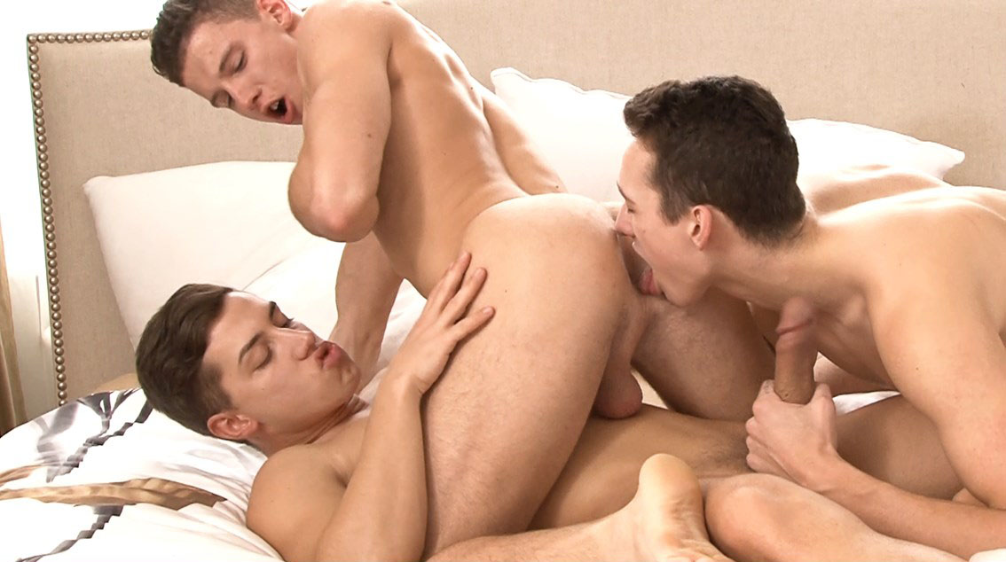 New Bel Ami Series: 'Offensively Large' (starring Jack Harrer, Gino Mosca, Joel Birkin, Claude Sorel and More...) at BelAmiOnline.com