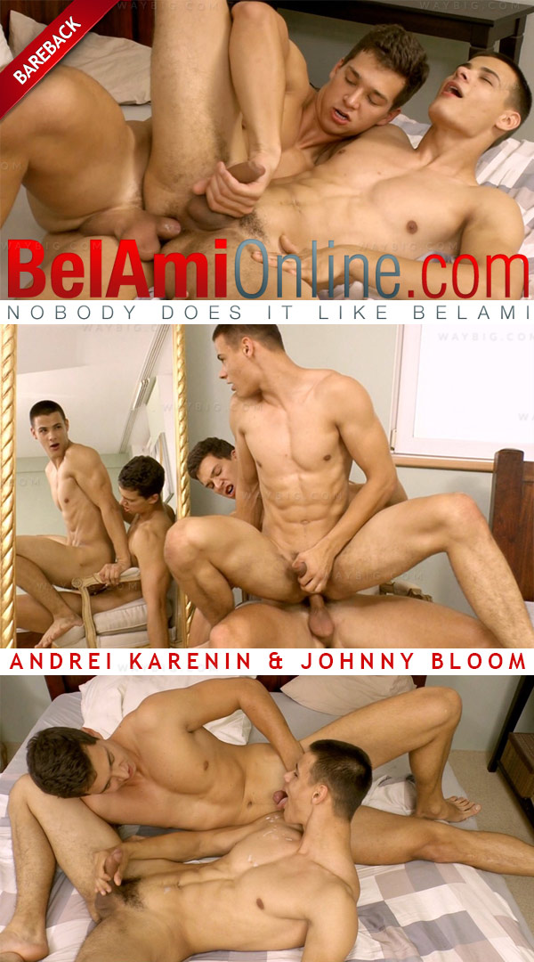 Andrei Karenin & Johnny Bloom (Bareback) at BelAmiOnline.com