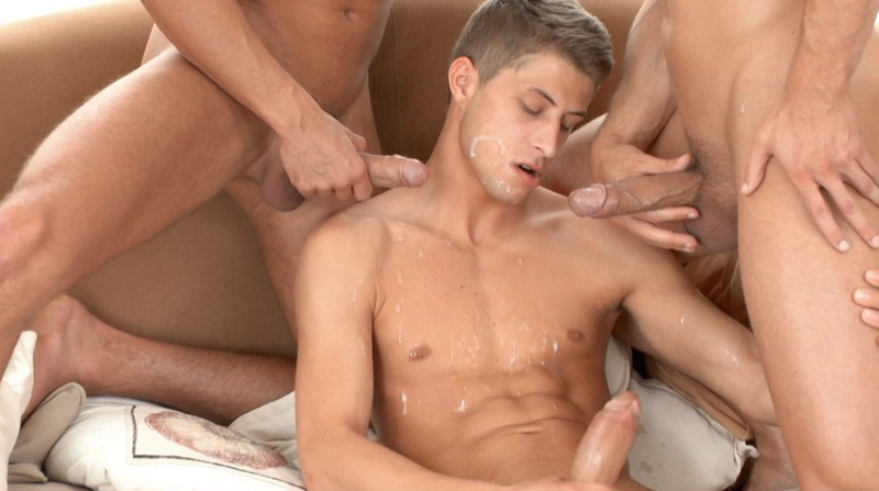 Loving Kris (Kris Evans, Jack Harrer and Vadim Farrell) at BelAmiOnline.com