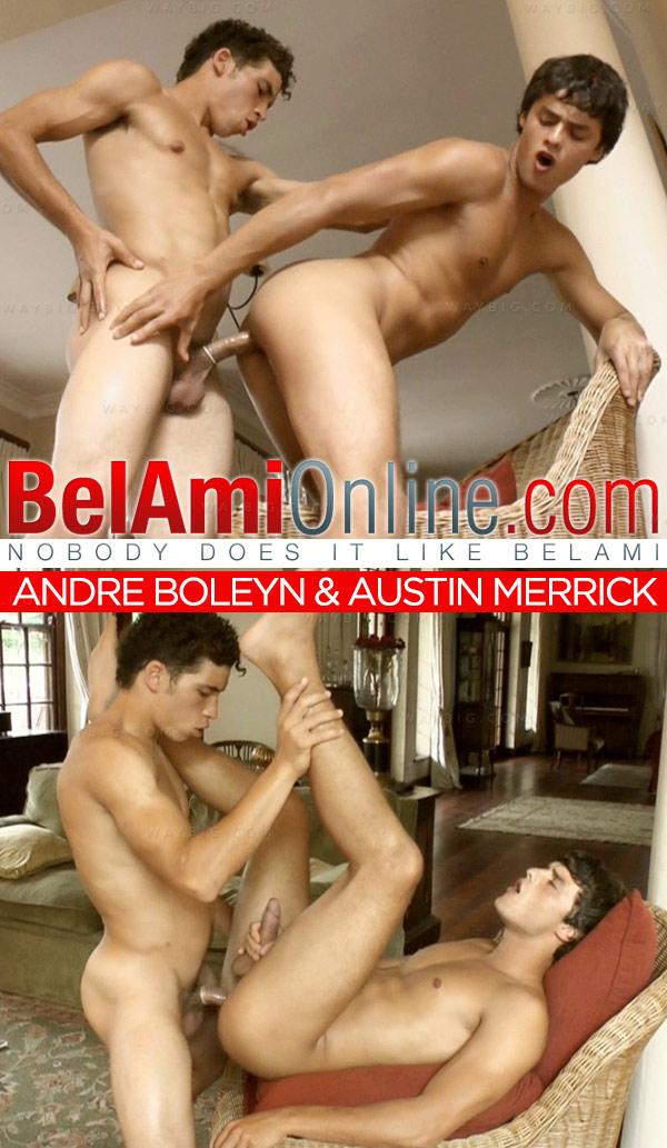 Andre Boleyn & Austin Merrick at BelAmiOnline.com