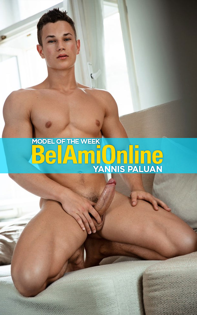 Yannis Paluan (Model of the Week) at BelAmiOnline.com
