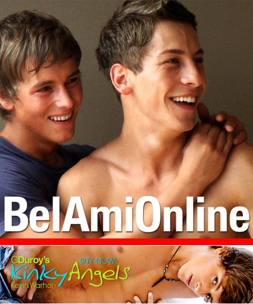 Kinky Angels (Kevin Warhol & Jim Kerouac) at BelamiOnline