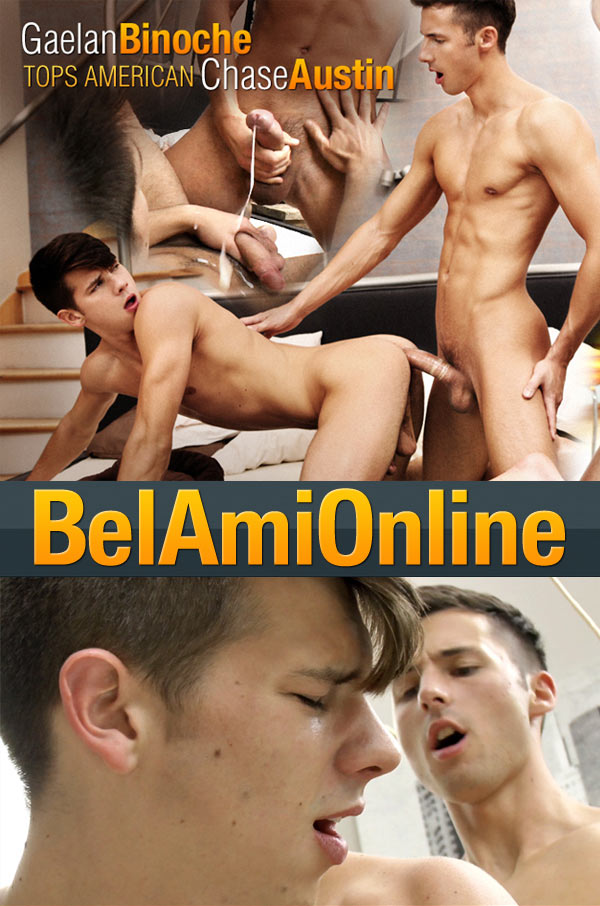 Gaelan Binoche & Chase Austin at BelAmiOnline.com