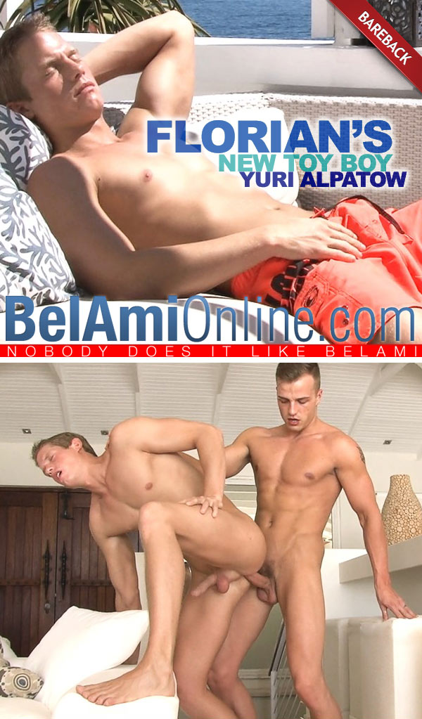 Florian Nemec & Yuri Alpatow (Florian's New Boy Toy) (Bareback) at BelAmiOnline.com
