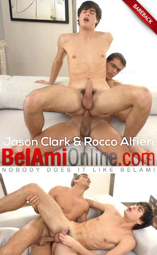 Jason Clark & Rocco Alfieri (Bareback) at BelAmiOnline.com