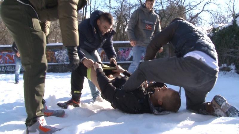 Winter Warmer (Joel Birkin, Adam Archuleta, Hoyt Kogan, Rocco Alfieri, Yuri Alpatow and Scott Reeves) (Parts 1 & 2) at BelAmiOnline.com