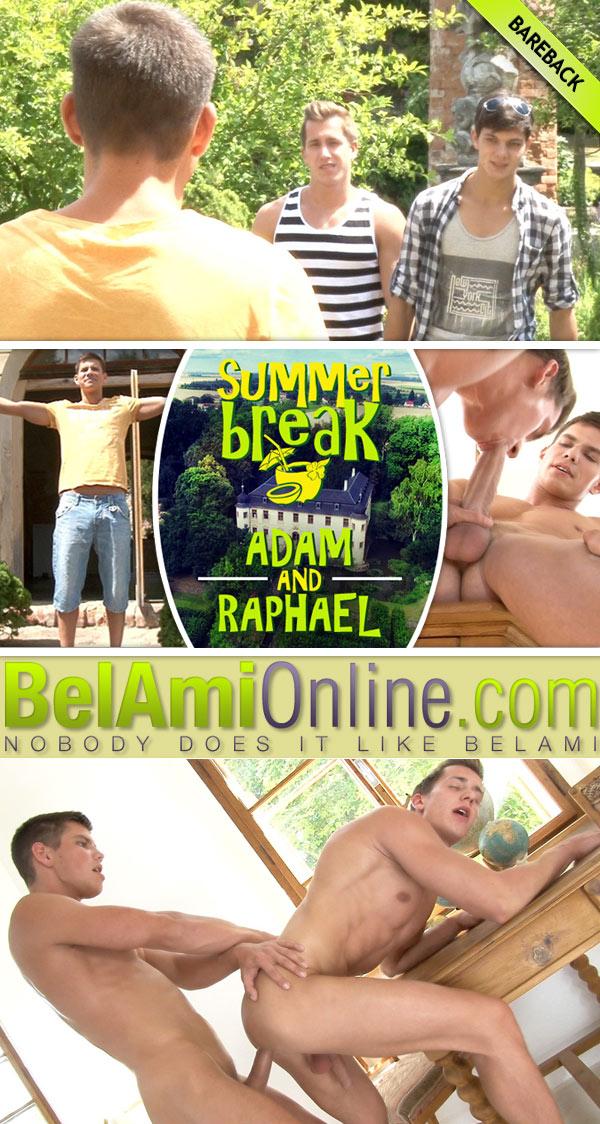 Summer Break (Adam Archuleta Fucks Raphael Nyon) (Part One) at BelAmiOnline.com
