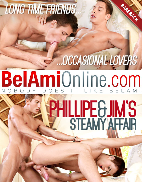 Jim Kerouac & Phillipe Gaudin (Bareback) at BelAmiOnline.com