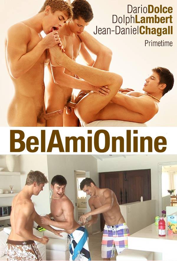 Dolph Lambert, Jean-Daniel Chagall & Dario Dolce at BelamiOnline