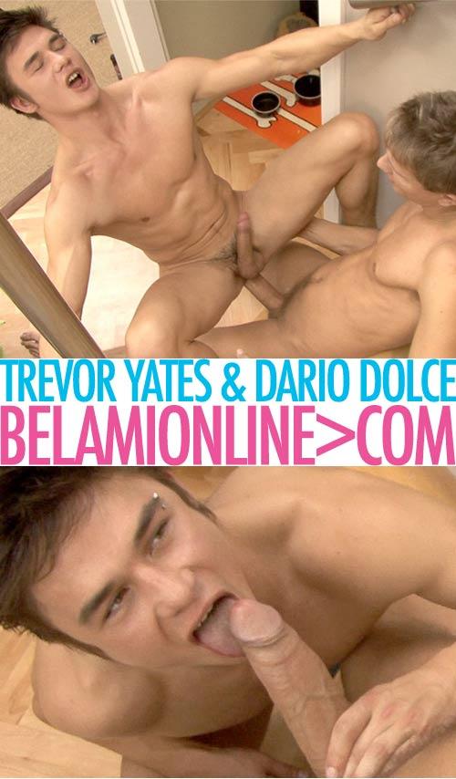 Trevor Yates & Dario Dolce (Bareback) at BelamiOnline